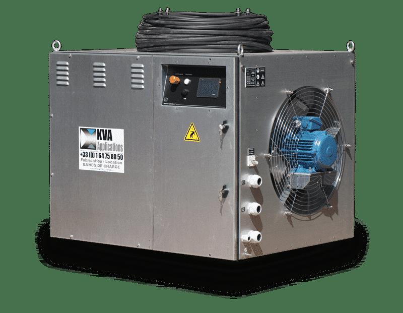 banc de charge essai groupe électrogène