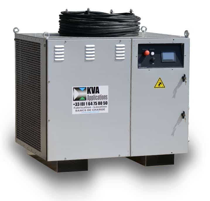 test de décharge de batterie par banc de test en courant continu