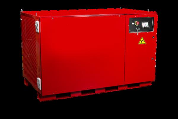 Banc de charge rouge pour test de groupe électrogène