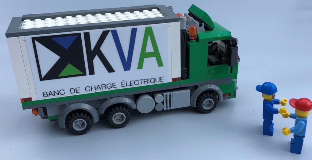 Le service client: la priorité de KVA Applications.  L'objectif : le rendement technique de vos équipements électriques